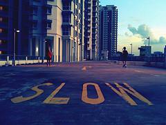 slow running