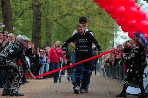london marathon claire lomas
